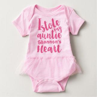 O tutu cor-de-rosa personalizado roubou meu t-shirt