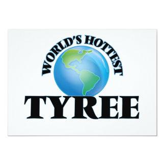 O Tyree o mais quente do mundo Convites Personalizado