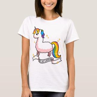 O último Llamacorn Camisetas
