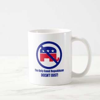 O único bom republicano caneca de café