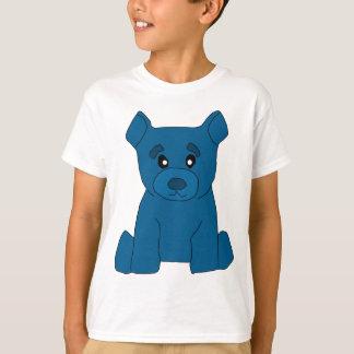 O urso azul caçoa o t-shirt