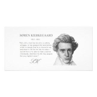 O valor o mais alto das Kierkegaard-Vidas Cartão Com Fotos