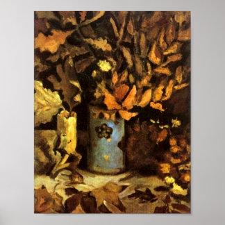 O vaso com morto sae de belas artes de Van Gogh Poster