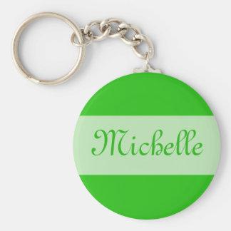 o verde adiciona seu nome chaveiro