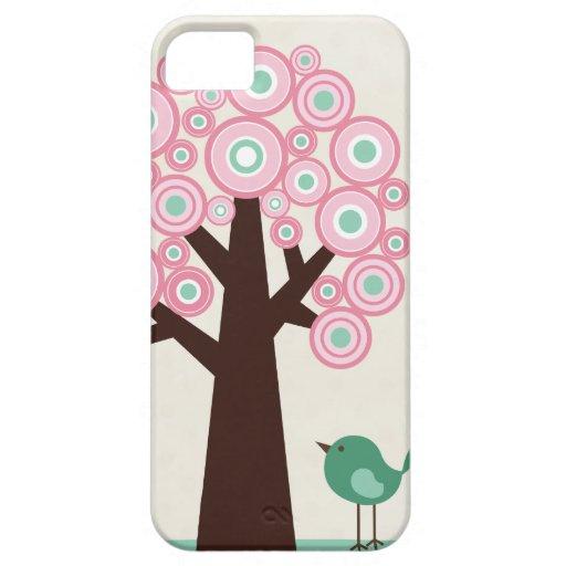 O verde cor-de-rosa na moda circunda o caso do iph capa de iPhone 5 Case-Mate