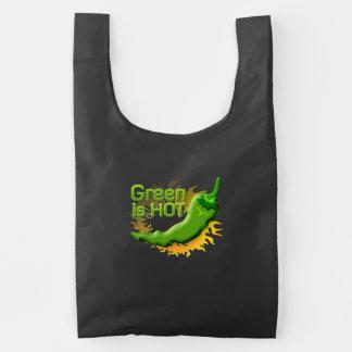 O verde está QUENTE
