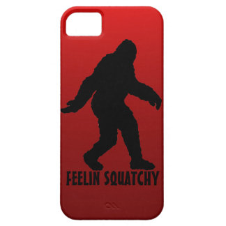 O vermelho de Feelin Squatchy desvanece-se caso do Capa iPhone 5