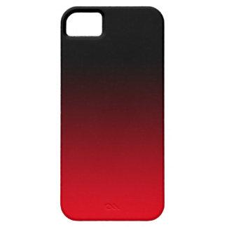 O vermelho desvanece-se abstrato da arte das capas iPhone 5 capas