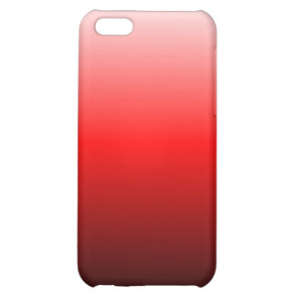 O vermelho desvanece-se caixa do speck capa iphone 5C