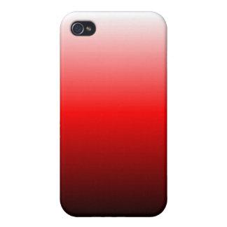 O vermelho desvanece-se caixa do speck capas iPhone 4