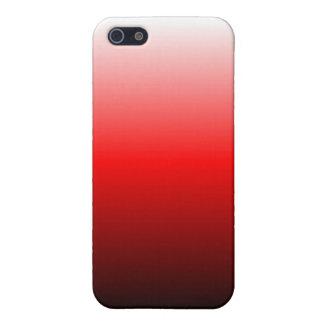 O vermelho desvanece-se caixa do speck capas iPhone 5