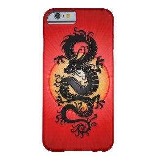 O vermelho estourou o dragão chinês capa barely there para iPhone 6