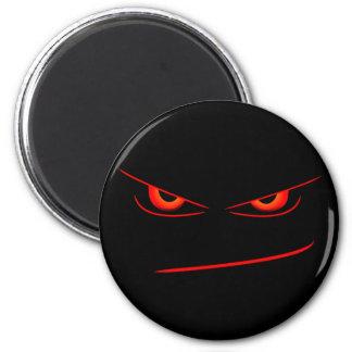 o vermelho mau eyes o ímã ímã redondo 5.08cm
