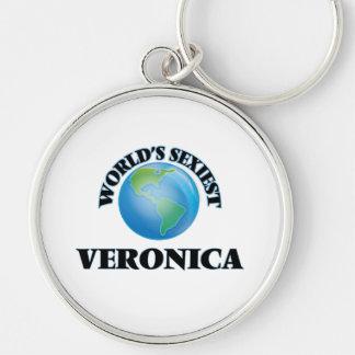 """O Veronica o mais """"sexy"""" do mundo Chaveiros"""