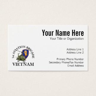 ø Veterinário Huey de Vietnam dos Bde dos Avn Cartão De Visitas