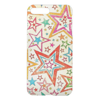 o vintage colorido stars a arte do vextor capa iPhone 7 plus