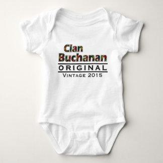O vintage de Buchanan do clã personaliza seu Camiseta