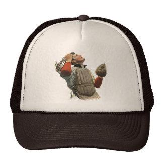 O vintage ostenta o jogador de beisebol, coletor boné