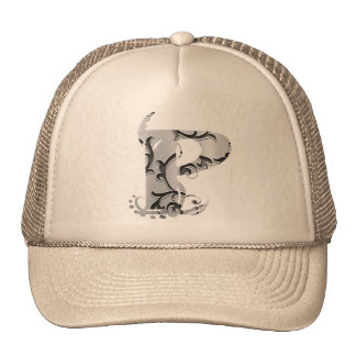 O vintage rotula P - chapéu Boné