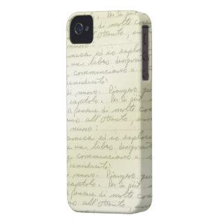 O vintage Scribbles a Deco a caixa de Blackberry Capa Para iPhone
