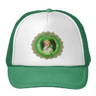 O vintage St Patrick beija-me que eu sou irlandês Boné