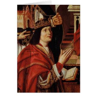 O Virgin dos reis católicos Cartão Comemorativo
