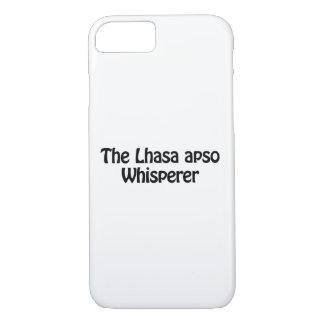 o whisperer do apso de lhasa capa iPhone 7