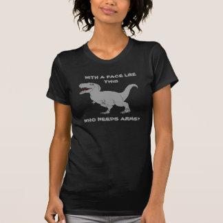 O WHO PRECISA OS BRAÇOS? T-shirt do tiranossauro