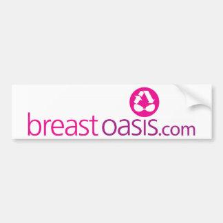 Oásis do peito adesivo para carro