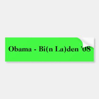 Obama - antro '08 do Bi (La de n) Adesivo Para Carro