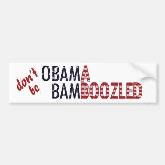 Obama Bamboozled - personalizado Adesivo Para Carro