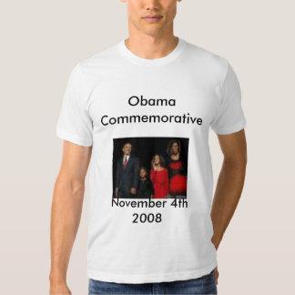 Obama comemorativo - personalizado t-shirt