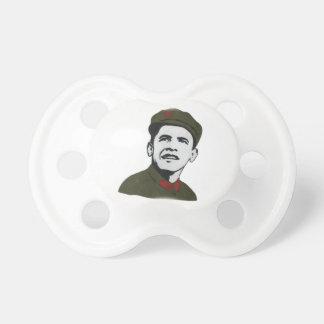 Obama como o design de Che Guevara Chupeta Para Bebê