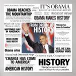 Obama: Do sonho ao poster do título da história