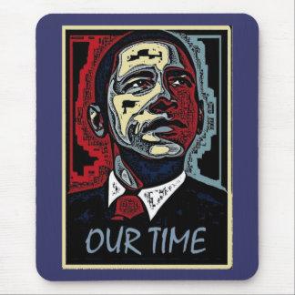 Obama nosso tempo mouse pad