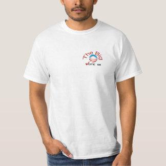 Obama o Tshirt grande do orçamento do voto 08 de O
