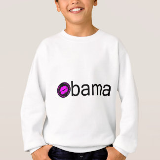 Obama (rosa do preto) camiseta