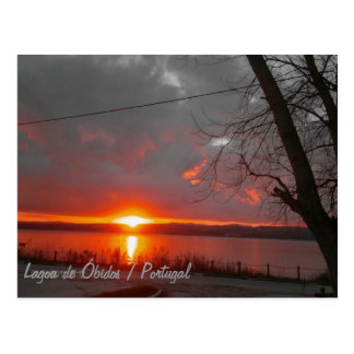 Óbidos Lagoon Cartão Postal