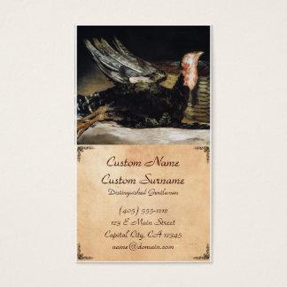 Obra-prima inoperante de Turquia Francisco José de Cartão De Visitas