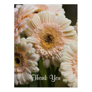 Obrigado cartão cartão postal