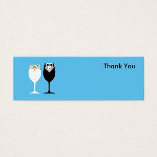 Obrigado cartões com fotos para o favor e as