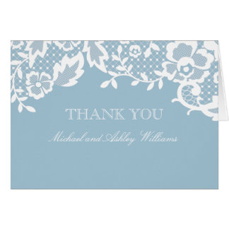 Obrigado clássico do laço você cartão de nota