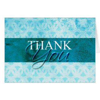 Obrigado da névoa do mar você cartões