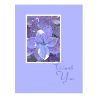 Obrigado da simpatia ou da morte dos Lilacs você c Cartões Postais