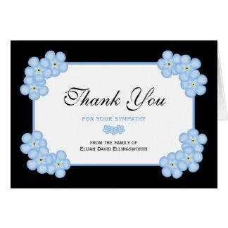 Obrigado da simpatia você cartão de nota -- Miosót