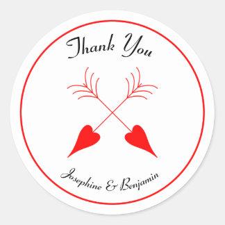 Obrigado de Las Vegas das setas do Cupido dos Adesivo