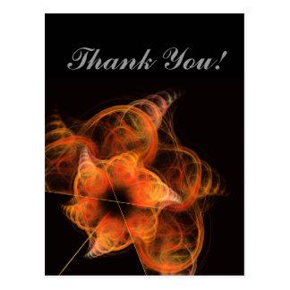 Obrigado de Lightworks você cartão