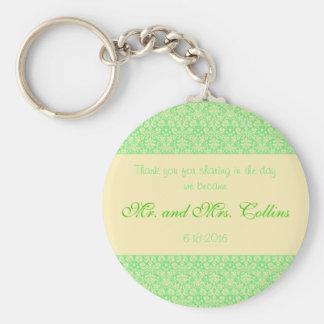 Obrigado do casamento da ocasião especial do chaveiro