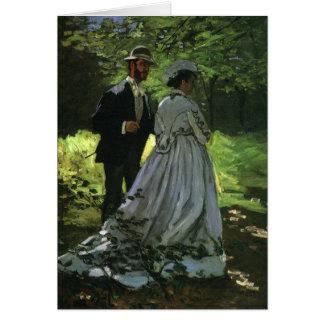 Obrigado do casamento vintage você, o Promenaders, Cartão De Nota
