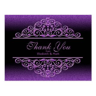 Obrigado do Lilac do brilho você Cartão Postal